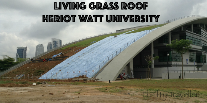 Living Grass Roof Heriot Watt University