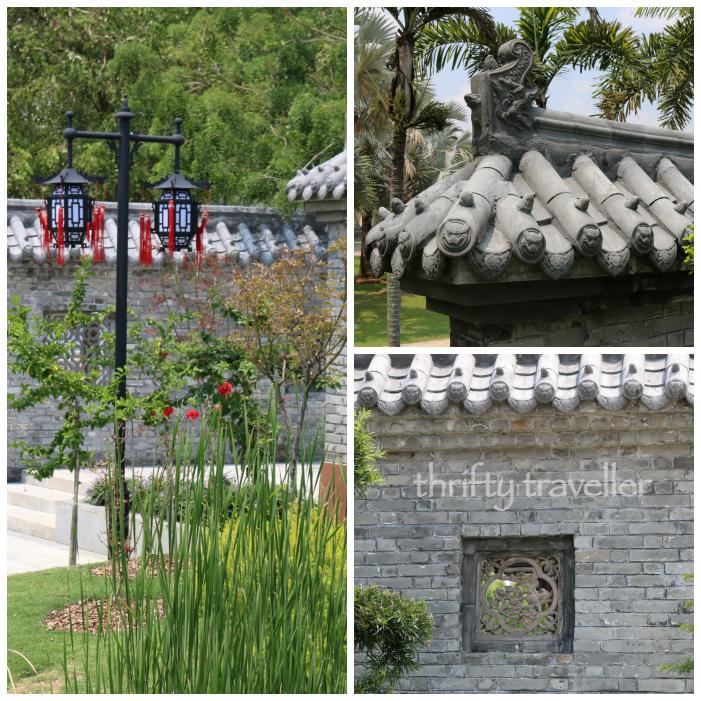 China Malaysia Friendship Garden Putrajaya