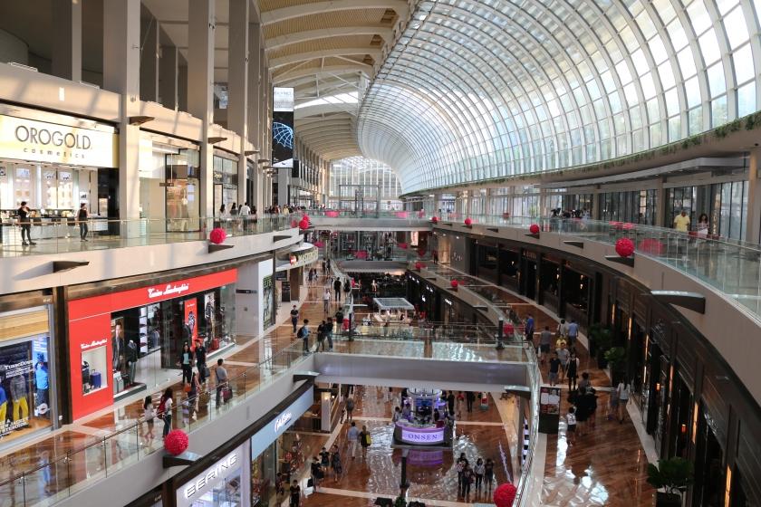 Shopping Mall at Marina Bay Sands