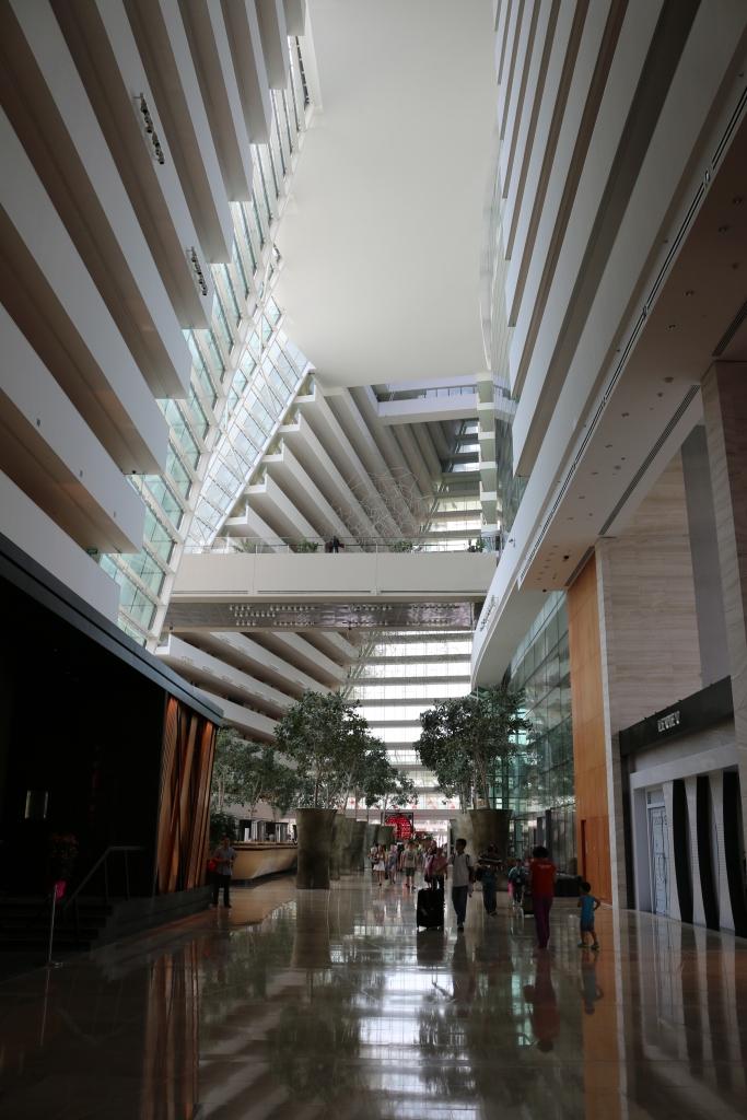 Lobby of Tower 2 Marina Bay Sands