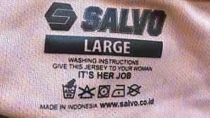 sexist washing instructions