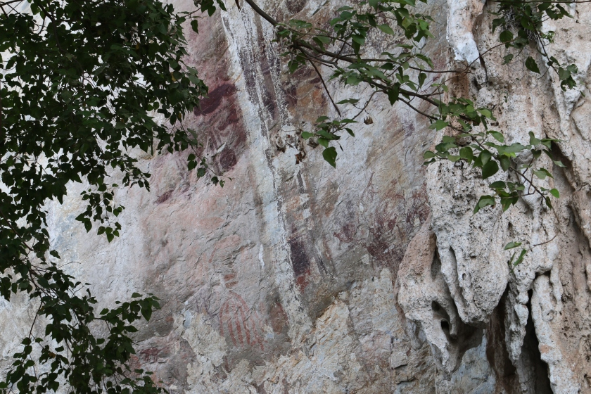 Gua Tambun Cave Paintings