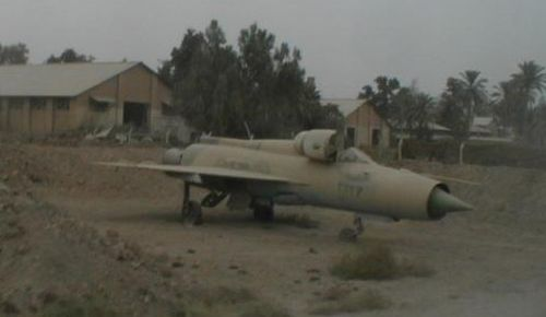 MIG 21 in Yemen in the 1980's