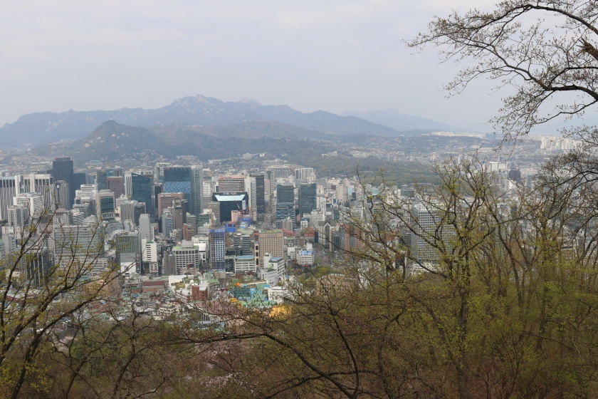 View of Seoul from Namsan Park