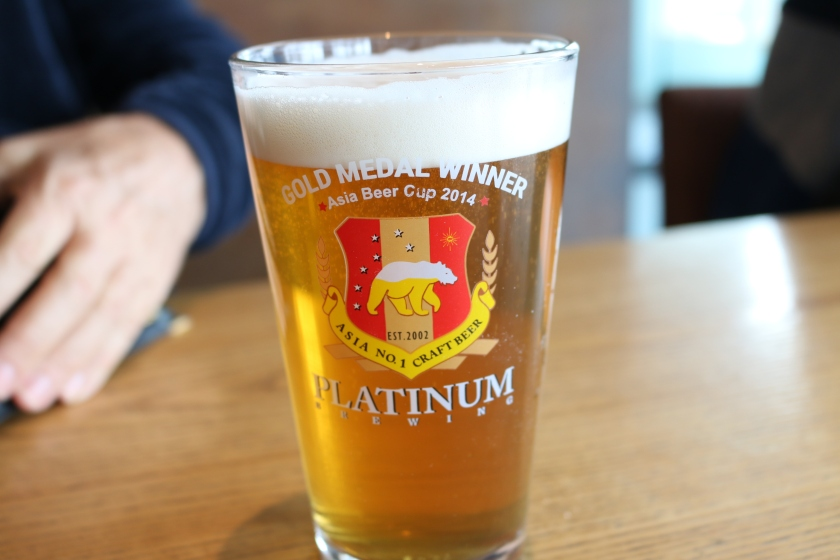 Platinum Craft Beer in Seoul