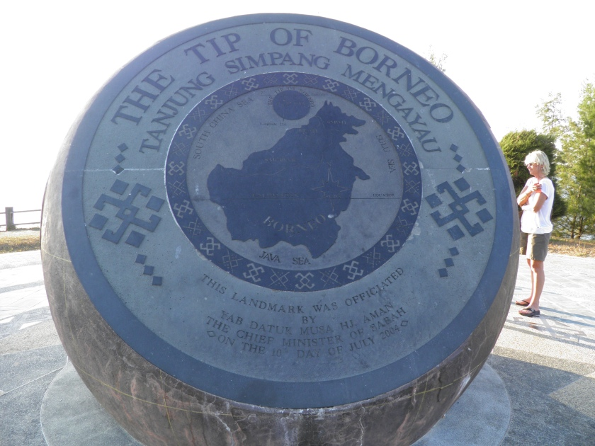Tip of Borneo marker