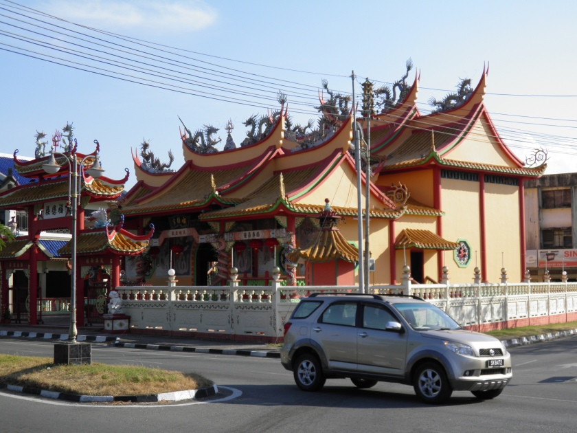 Chinese Temple in Kudat