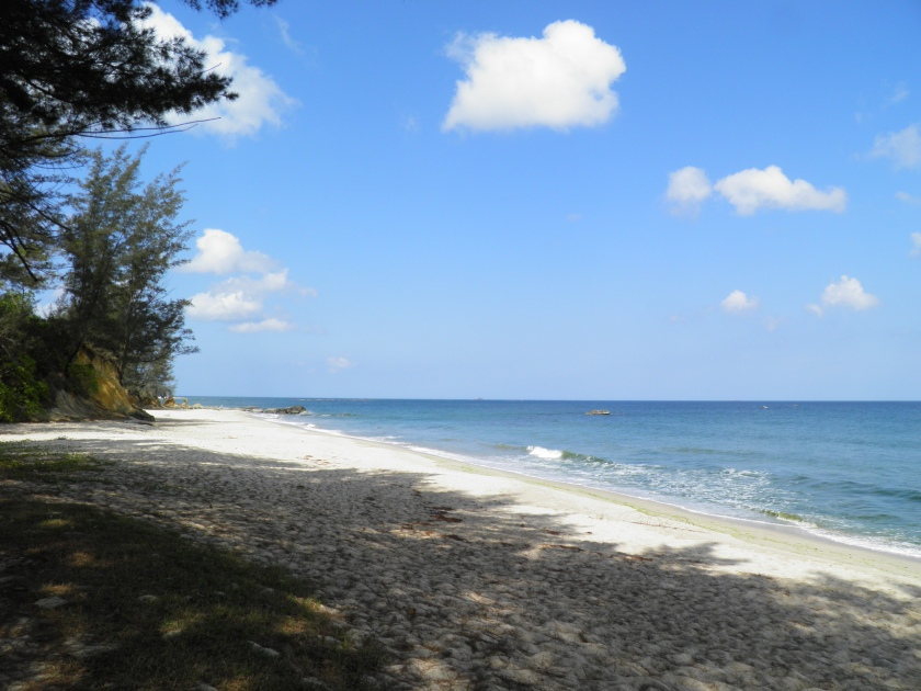 Beach at Tindakon Dazang