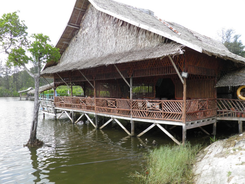 Restaurant at Tindakon Dazang Beach Longhouse
