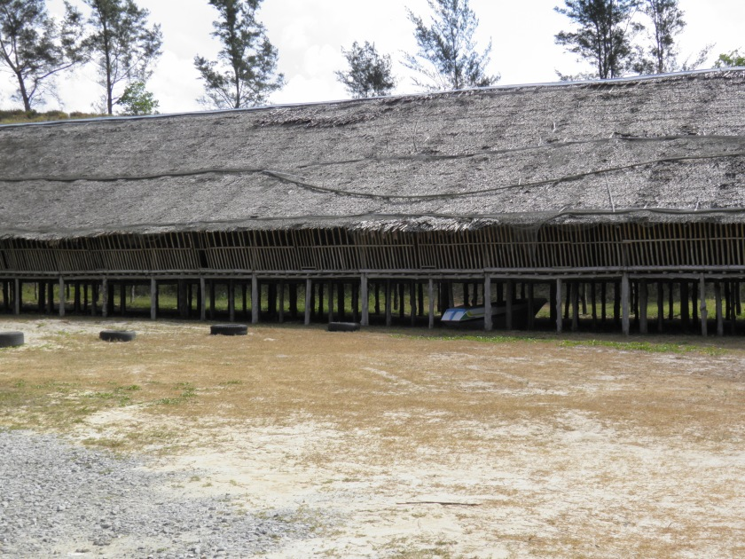 Rungus Longhouse at Tindakon Dazang Beach