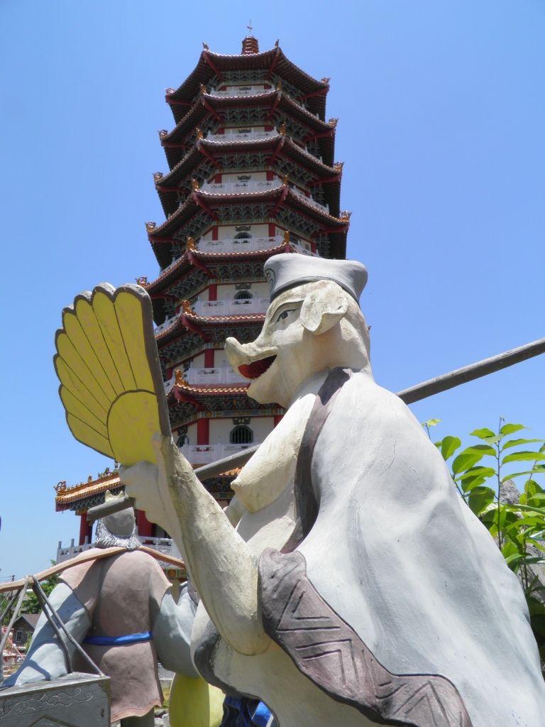 Journey to the West character at Tuaran