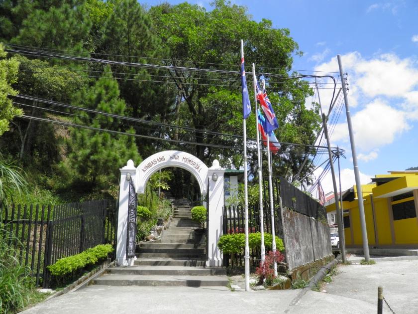 Entrance to Kundasang War Memorial, Sabah, Malaysia