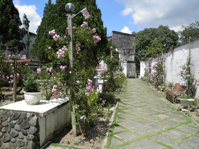 English Garden, Kundasang War Memorial, Sabah, Malaysia