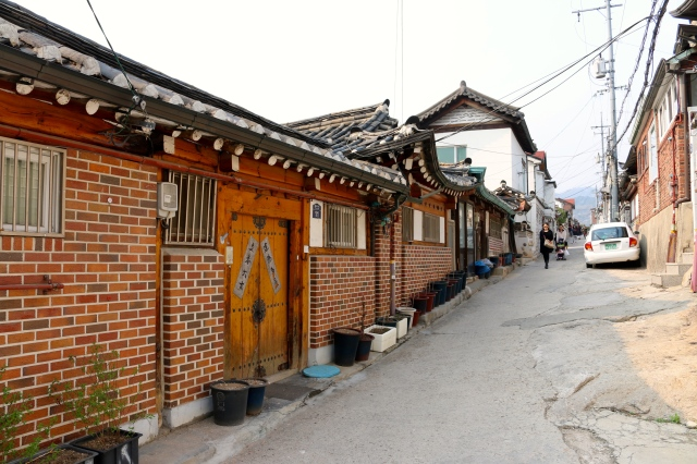 Alley in Bukchon Hanok Village