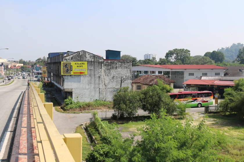 Location of Antong Coffee Factory
