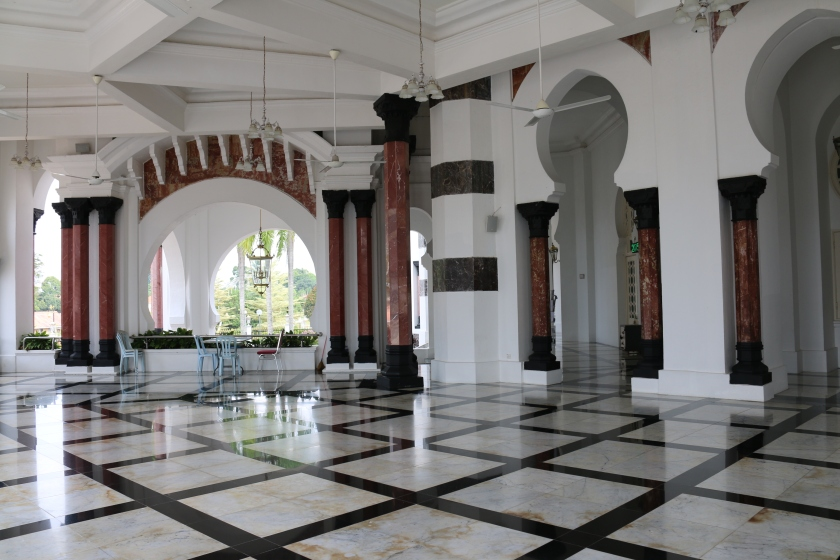 Spacious verandahs were added to Ubudiah Mosque in 1993 to accommodate additional worshippers.