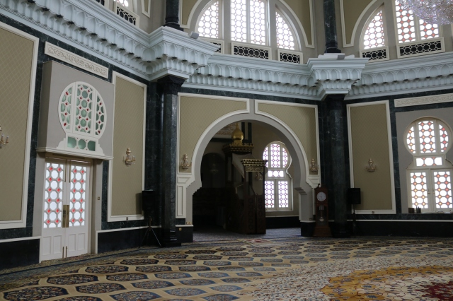 Interior of Ubudiah Mosque