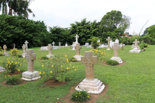 Well maintained cemetery at Bukit Chandan.