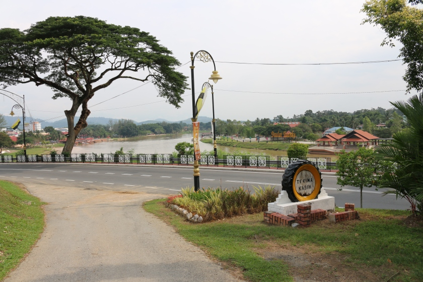 View from Bukit Chandan cemetery