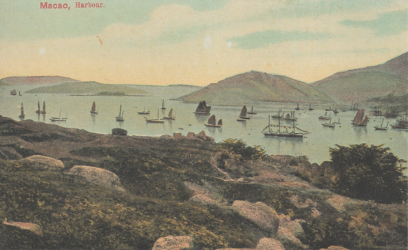 Macau Harbour 1890