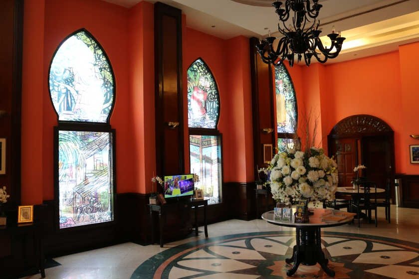Attractive foyer to the City Theatre, also at Merdeka Square in KL