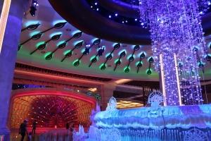 Lobby of Galaxy Hotel