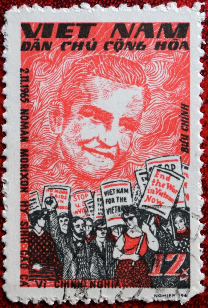 Norman Morrison Stamp