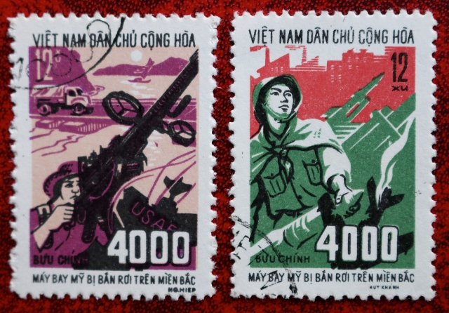 Later in 1972, North Vietnam releases these stamps, increasing the total of kills to 4,000.