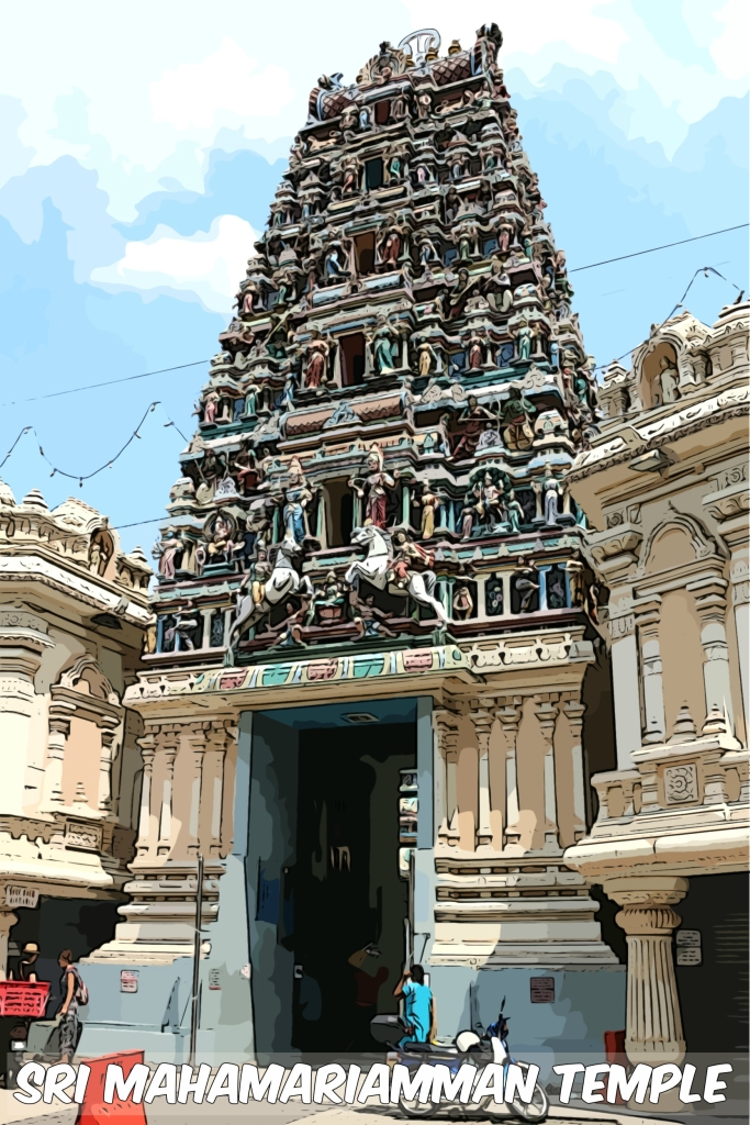 This temple was founded in 1873 by a prominent Tamil called K. Thamboosamy Pillai, who was also said to have been instrumental in establishing Batu Caves as a Hindu Temple. He also contributed generously to the building of St. Mary's Cathedral which no doubt put him on good terms with the British colonial administration.