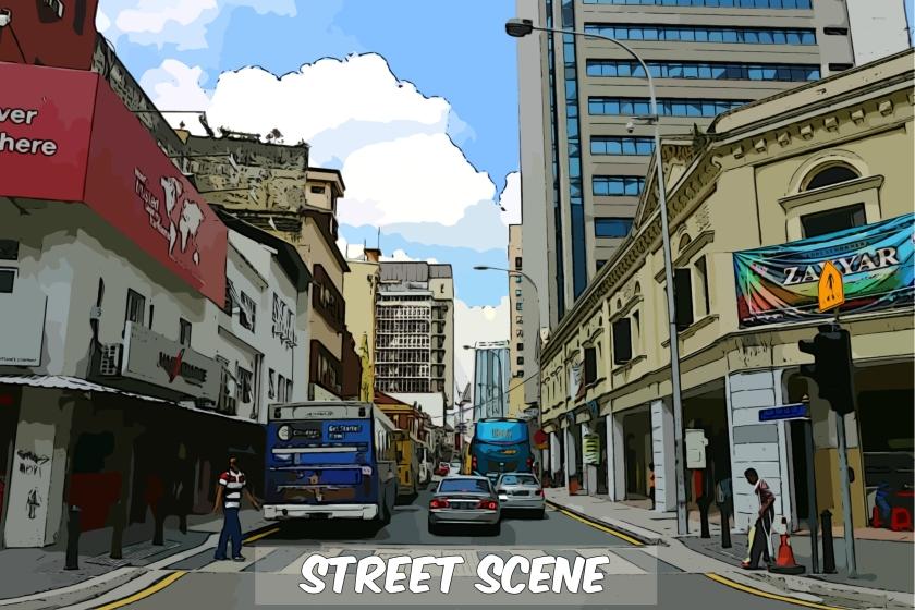 Jalan Tun HS Lee Street Scene