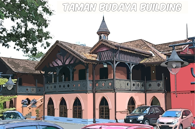 This building was the original Victoria Institution school but is now used as a venue for cultural dance and traditional arts shows.