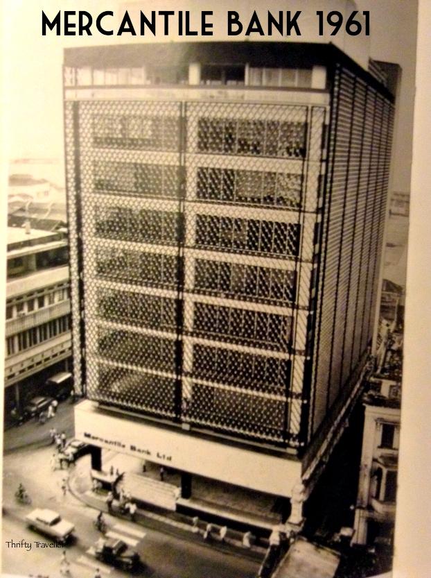 Mercantile Bank in Kuala Lumpur in 1961