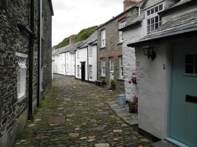 The harbour village of Boscastle is one of the most unspoilt in Cornwall.
