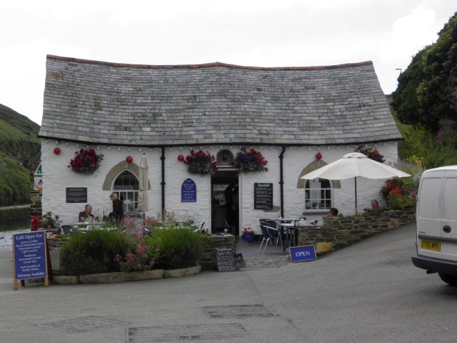 This ancient building had a narrow escape when Boscastle was struck by a devastating flood in 2004.