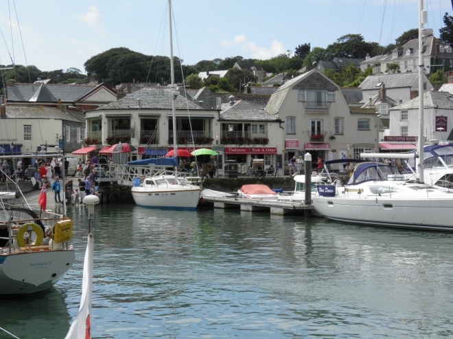 Padstow is a picturesque fishing port turned tourist destination. Despite having over 1500 years of history it is best known as the base for Rick Stein's seafood cooking TV series.