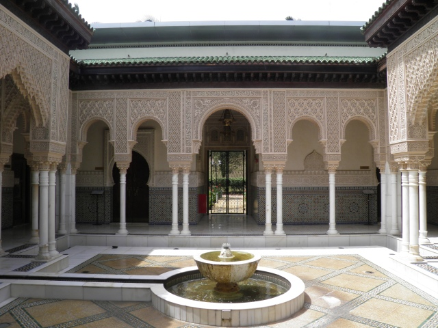 Inner Courtyard of the Moroccan Pavilion Putrajaya