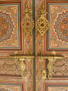 Door Decor at Moroccan Pavilion Putrajaya