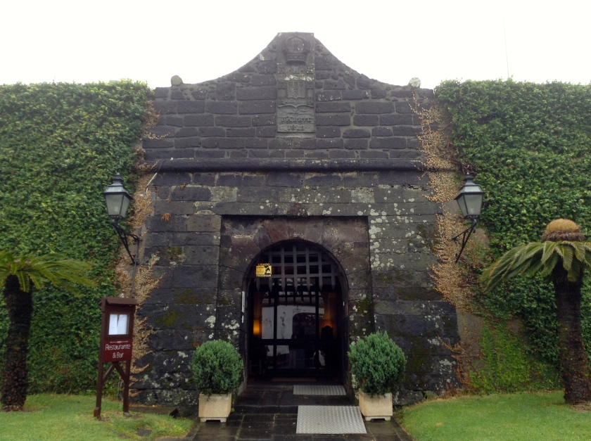 Pousada Forte da Horte. Not many hotels come with their own portcullis!