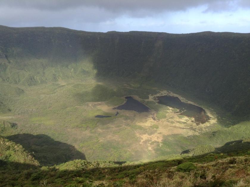 Faial's main caldera.