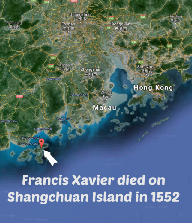 Francis-Xavier-Shangchuan-Island