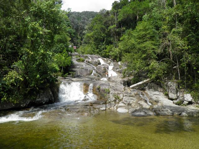 Puteri Waterfall at Gunung Ledang