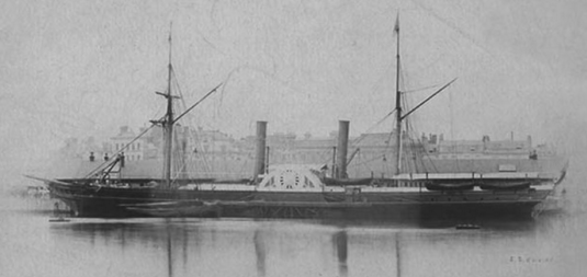 paddle Steamer Euxine
