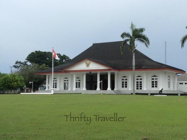 Raffles' Residence in Bengkulu?
