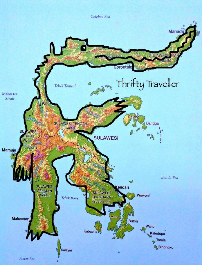 Sulawesi-Map