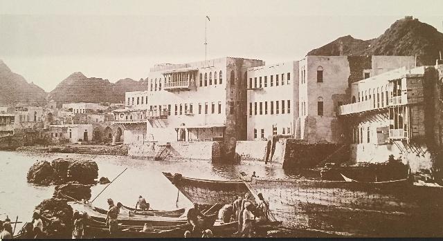Muscat-harbour-19th-century