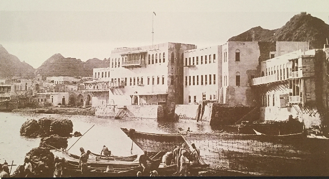 Muscat-harbour-19th-century