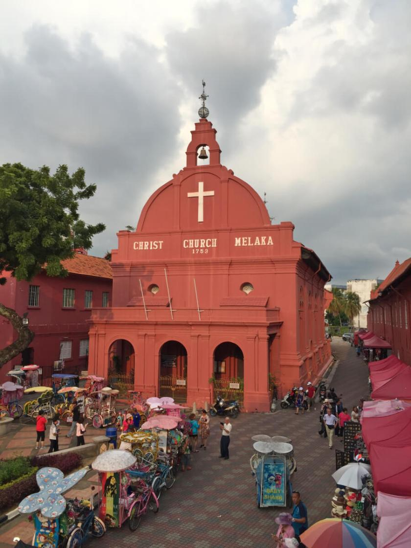 Melaka-Tourism-christ-church