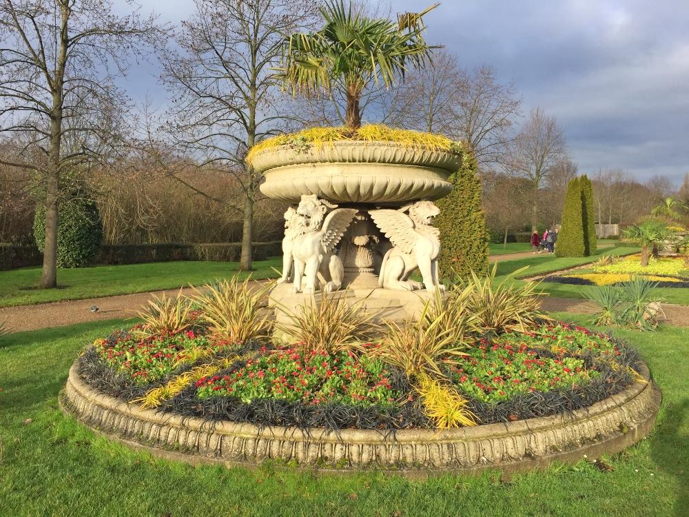 Griffin Tazza, Regent's Park