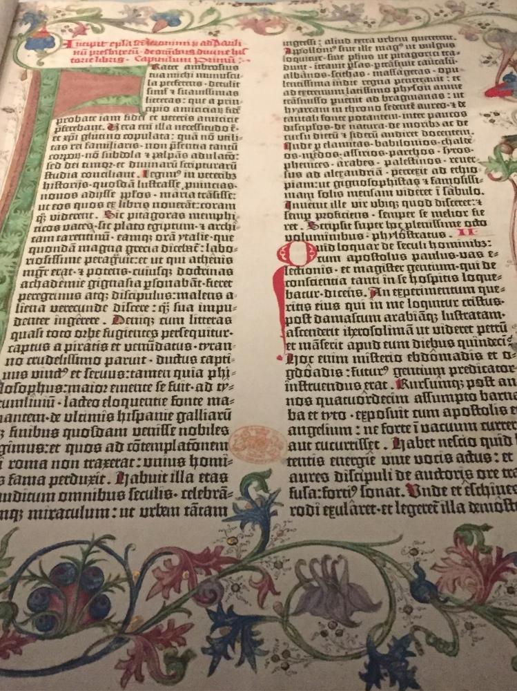 The Gutenberg Bible, Mainz (1454)