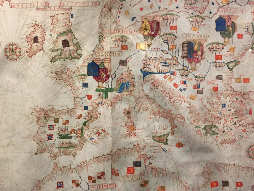 Southern European Navigational chart (1470)
